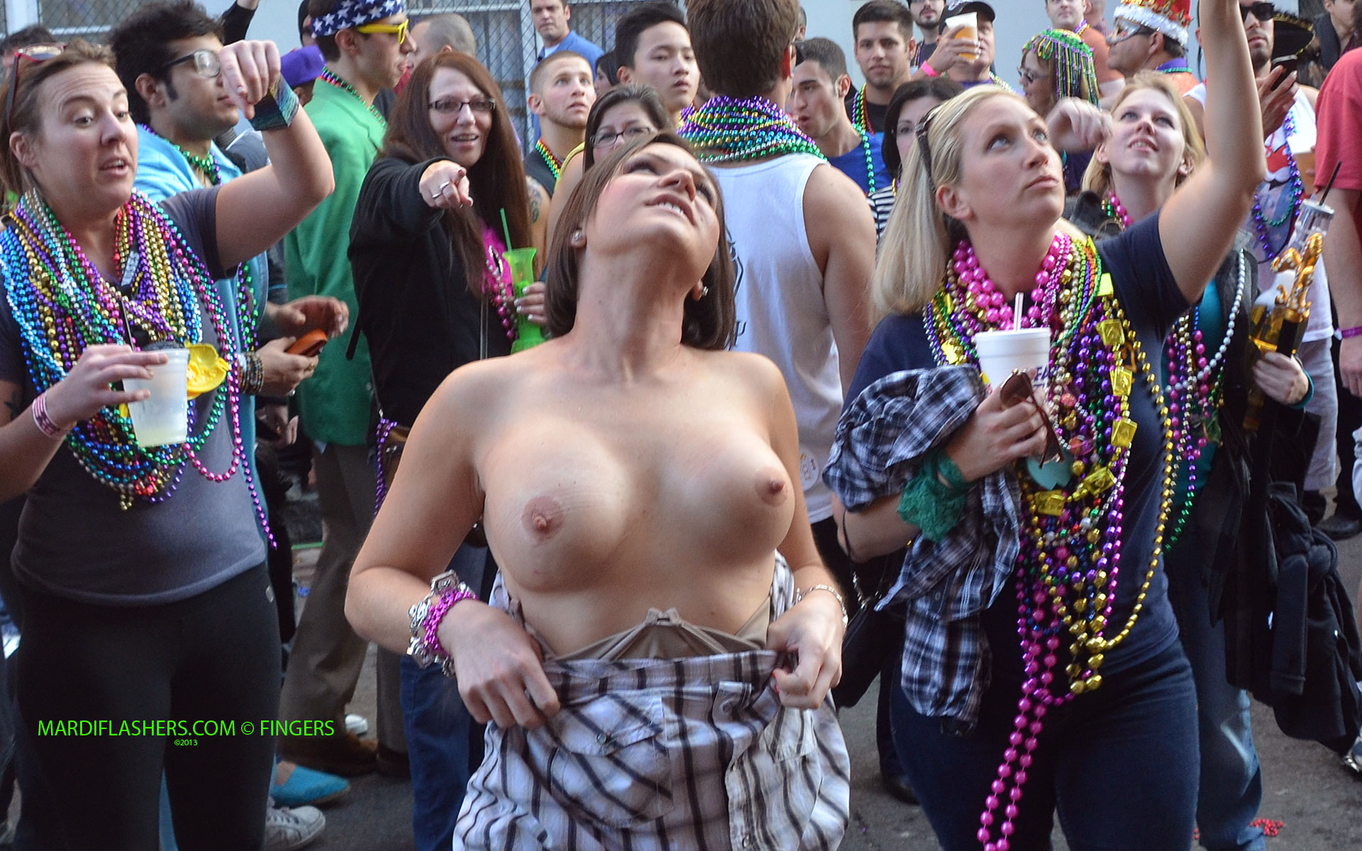 Consider, that Mardi gras party girls naked